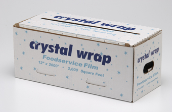 CRYSTAL WRAP 18X3000 VALUE GRADE FILM CW183 / PERKINS