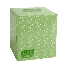 21320 SURPASS BOUTIQUE FACIAL TISSUE 2-PLY 36/CS 110SHT/BX