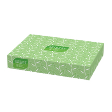 21390 SURPASS FACIAL TISSUE 2-PLY 60/125 FLAT BOX EPA