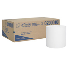"02000 SCOTT HIGH CAPACITY HARD ROLL TOWEL 6RL/CS 8""X950'"