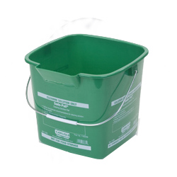 1183209 SUDS PAIL 6QT GREEN 12/CS SQUARE
