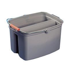 FG261700GRAY 17QT DOUBLE PAIL  RUBBERMAID 6/CS BUCKET