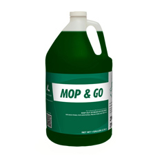 3144 MOP & GO ENZYME BASED NO RINSE FLOOR CLEANER 4/1 GAL