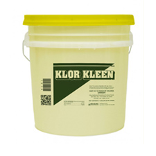 1215 KLOR CLEAN DISHMACHINE SANITIZER LOW TEMP 5 GAL EPA
