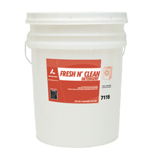 7115 FRESH N CLEAN LAUNDRY DETERGENT 5 GAL