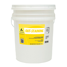 7215 OUT STAINING DESTAINER  5 GAL