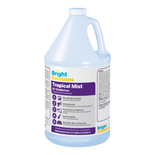 BSL1090041 BRIGHT SOLUTIONS TROPICAL MIST DEORDORIZER 4/1