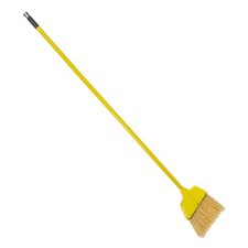 91526 YELLOW SMALL ANGLER FLAGGED BROOM 6/CS