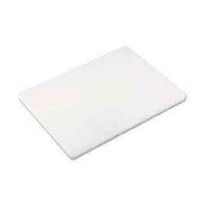 "PER1218MD BROWNE CUTTING BOARD 12""X18""X1/2"" NON-SKID WHITE"