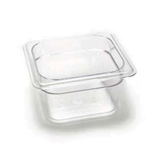 "64CW135 CAMBRO FOOD PAN PLAST ONE SIXTH-SIZE 4"" DEEP"