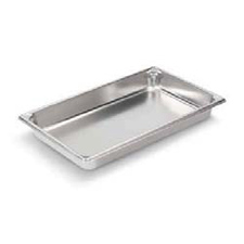 30022 VOLLRATH STEAM TABLE PAN STAINLESS FULL SIZE 2-1/2""