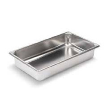 * 30042 VOLLRATH STEAM TABLE PAN STAINLESS FULL SIZE 4""