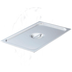 77250 VOLLRATH STEAM TABLE PAN COVER STAINLESS FULL SIZE