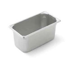 "* 30362 VOLLRATH STEAM TABLE PAN ONE THIRD SIZE 6"" DEPTH"