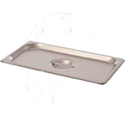 75230 VOLLRATH STEAM TABLE PAN COVER STAINLESS ONE THIRD