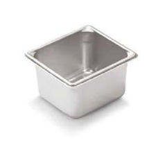 "* 30662 VOLLRATH STEAM TABLE PAN ONE SIXTH SIZE 6"" DEPTH"
