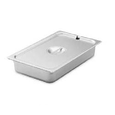 * 75260 VOLLRATH STEAM TABLE PAN COVER STAINLESS ONE-SIXTH