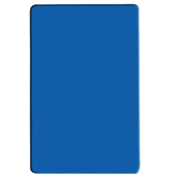 PLCB241805BU BLUE COLOR POLYETHYLENE CUTTING BOARD
