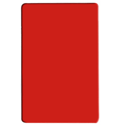 PLCB241805RD RED COLOR POLYETHYLENE CUTTING BOARD