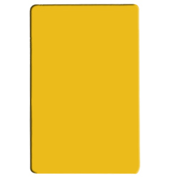PLCB241805YW YELLOW COLOR POLYETHYLENE CUTTING BOARD