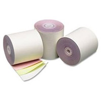 "18-333 3""x65'  3-PLY WHT/CANARY/PINK MACH ROLL"