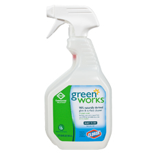 00459 GREENWORKS GLASS SURFACE CLEANER SPRAY 12/32 FL OZ