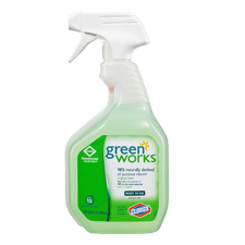 * 00452 GREENWORKS GENERAL BATHROOM CLEANER SPRAY 12/24