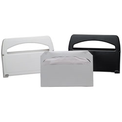 1120 PLASTIC WHITE TOILET SEAT COVER DISPENSER SOLD BY EACH