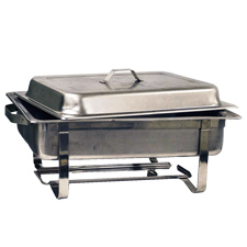 RENTAL FEE CHAFING DISH SET STAND, WATER PAN, FOOD PAN,