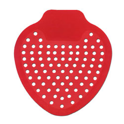 12-DS URINAL SCREEN CHERRY SCENTED 6BX/CS 12/BX 72/CS