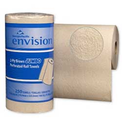 28290 ENVISION 2-PLY KITCHEN TOWEL 11X8.8 12RL/CS