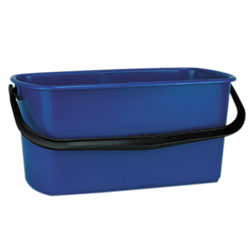 6250 WINDOW WASHING BUCKET BLUE, 6 GAL 3/CS