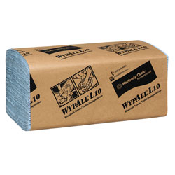 WYPALL 5123-00 L10 WINDSHIELD TOWEL 1-PLY 10/224 BLUE
